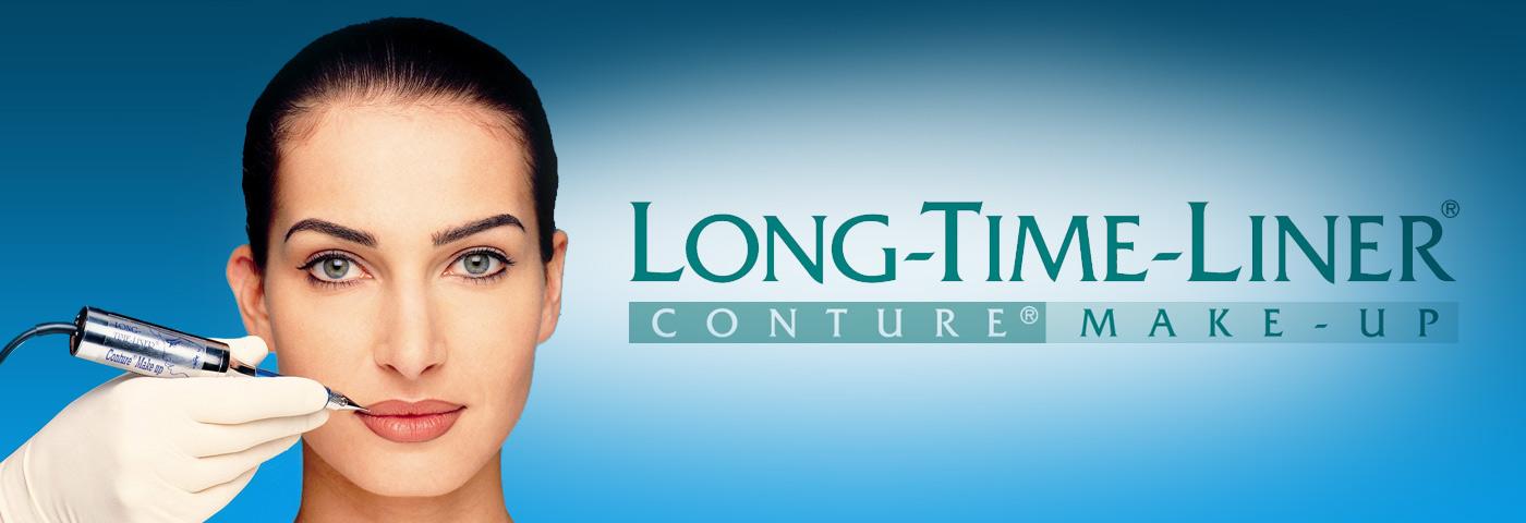 Long time liner conture make up fotoğraf